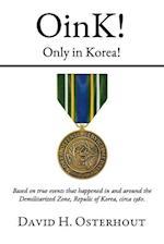 Oink! Only in Korea!