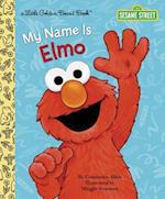 My Name Is Elmo (Little Golden Board Books)