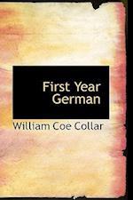 First Year German af William Coe Collar