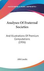 Analyses of Fraternal Societies af Abb Landis