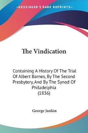 The Vindication af George Junkin