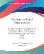 The Duyckinck and Allied Families af John Cornell, Whitehead Cornell Duyckinck