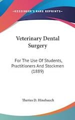 Veterinary Dental Surgery af Theries D. Hinebauch