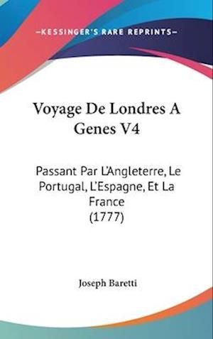 Voyage de Londres a Genes V4 af Joseph Baretti