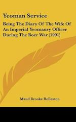 Yeoman Service af Maud Brooke Rolleston