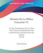 Histoire de La Milice Francoise V1 af Gabriel Daniel