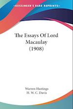 The Essays of Lord Macaulay (1908) af Warren Hastings