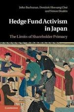 Hedge Fund Activism in Japan af John Buchanan, Simon Deakin, Dominic Chai