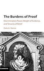 The Burdens of Proof af Dale A. Nance
