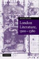 London Literature, 1300-1380 af Ralph Hanna