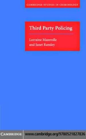 Third Party Policing af Janet Ransley