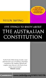 Five Things to Know About the Australian Constitution af Helen Irving