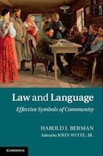 Law and Language af Harold J. Berman