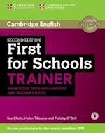 First for Schools Trainer Six Practice Tests with Answers and Teachers Notes af Sue Elliott