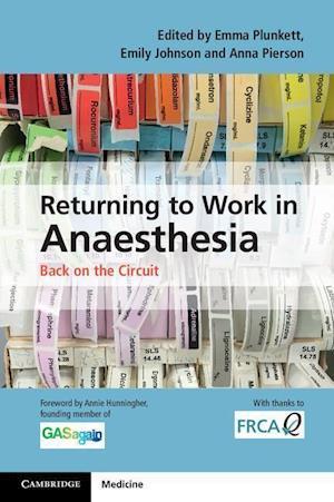 Bog, paperback Returning to Work in Anaesthesia af Emma Plunkett