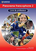 Panorama Francophone 2 Livre Du Professeur with CD-ROM af Irene Hawkes