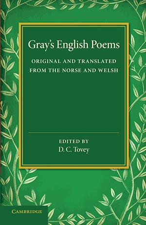 Gray's English Poems af Thomas Gray