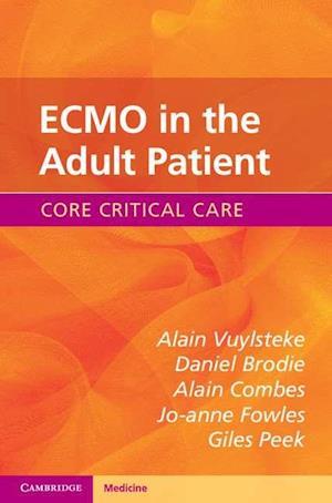 Bog, paperback ECMO in the Adult Patient af Alain Vuylsteke