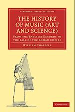 The History of Music (Art and Science) af William Chappell