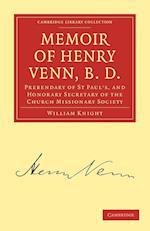 Memoir of Henry Venn, B.D. af William Knight