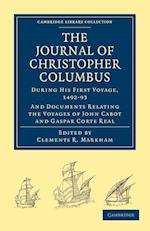 Journal of Christopher Columbus (during His First Voyage, 1492-93) af Clements R Markham, Christopher Columbus