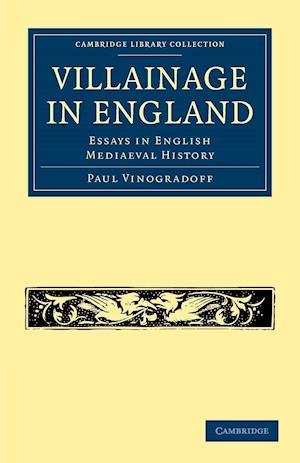 Villainage in England af Paul Vinogradoff