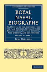 Royal Naval Biography af John Marshall