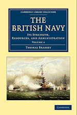 The British Navy af Thomas Brassey