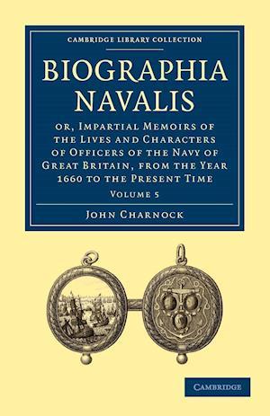 Biographia Navalis af John Charnock