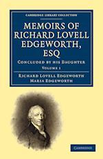 Memoirs of Richard Lovell Edgeworth, Esq af Maria Edgeworth, Richard Lovell Edgeworth