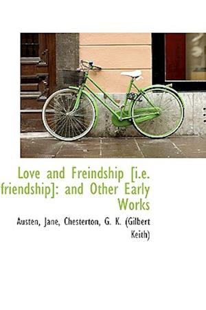 Love and Freindship af Austen Jane