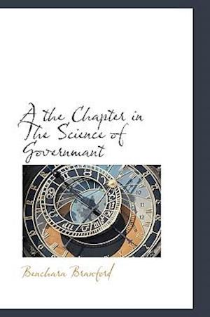 A the Chapter in the Science of Governmant af Benchara Branford