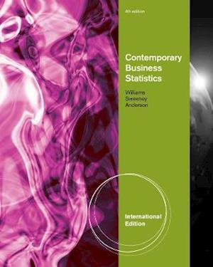 Contemporary Business Statistics af David Anderson, Thomas Arthur Williams