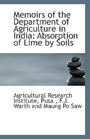 Memoirs of the Department of Agriculture in India af Pusa Agricultural Research Institute