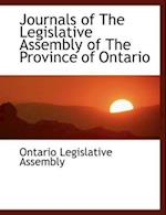 Journals of the Legislative Assembly of the Province of Ontario af Ontario Legislative Assembly