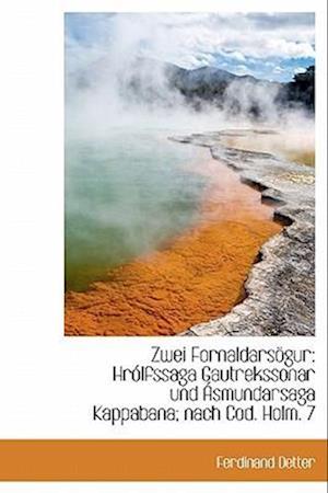 Zwei Fornaldarsogur af Ferdinand Detter