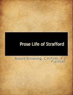 Prose Life of Strafford af Robert Browning, F. J. Furnivall, C. H. Firth