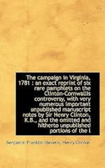 The Campaign in Virginia, 1781 af Henry Clinton, Benjamin Franklin Stevens