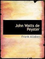John Watts de Peyster af Frank Allaben
