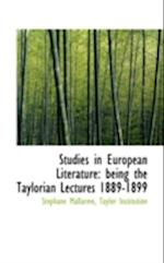Studies in European Literature af Stephane Mallarme, Taylor Institution, St Phane Mallarm