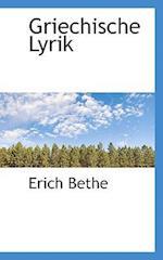 Griechische Lyrik af Erich Bethe