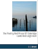 The Poetry and Prose of Coleridge Lamb and Leigh Hunt af S. E. Winbolt