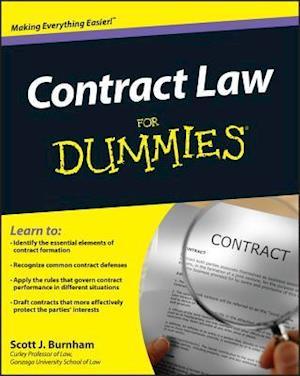 Contract Law For Dummies af Joe Kraynak, Consumer Dummies, Scott J Burnham