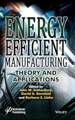 Energy Efficient Manufacturing With Applications