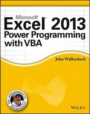 Excel 2013 Power Programming with VBA af John Walkenbach