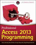 Professional Access 2013 Programming af George Hepworth