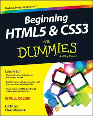 Beginning HTML5 and CSS3 For Dummies af Chris Minnick