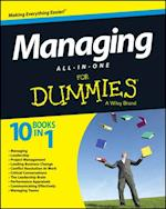 Managing All-in-One For Dummies af Consumer Dummies