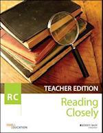 Reading Closely Teacher Handbook, Grades 6-12 af Odell Education