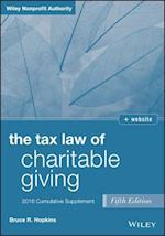 Tax Law of Charitable Giving 2016 Cumulative Supplement